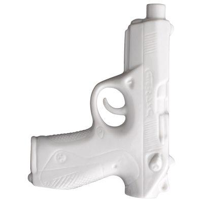 Bild av Pistol vas, vit