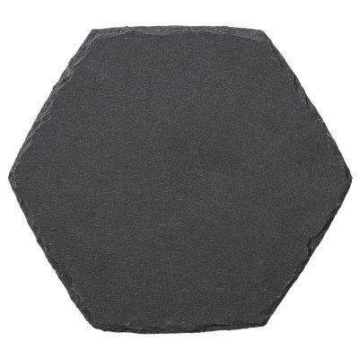 Placemat underlägg svart skiffer