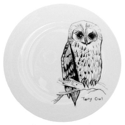 Tawny Owl tallrik