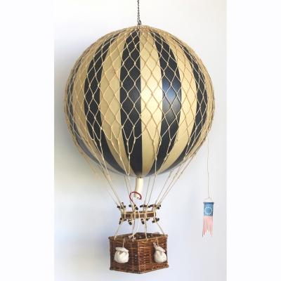 Royal Aero luftballong svart/vit