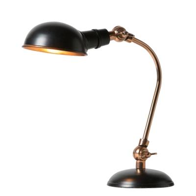 Zagreb bordslampa, svart/rosé