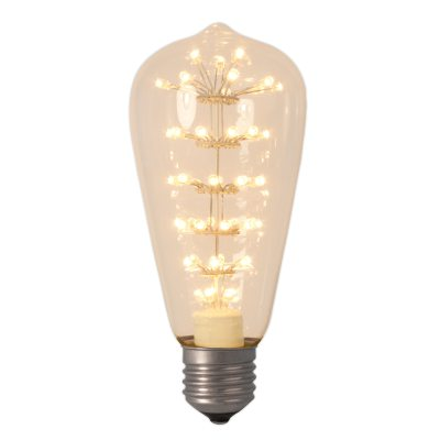 Pearl LED E27 3W rustik