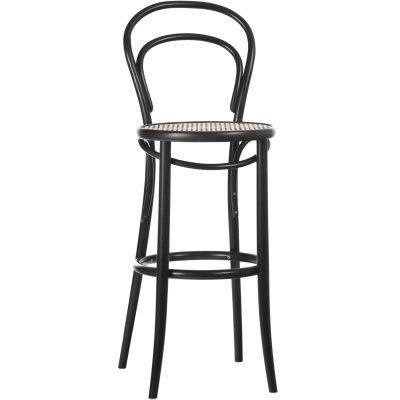 Bild av No 14 barstol H 61, svart/rotting