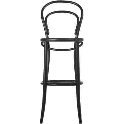 No14 barstol H76 svart