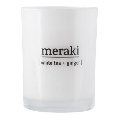 Meraki doftljus S, white tea/ginger