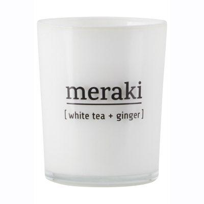 Meraki doftljus M, white tea/ginger
