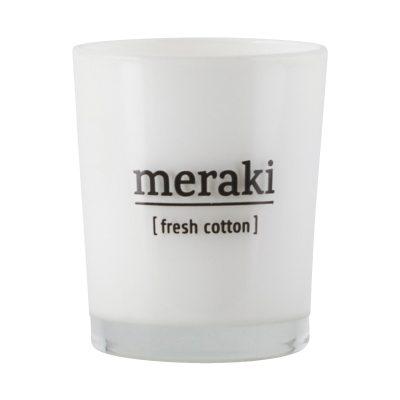 Meraki doftljus M fresh cotton