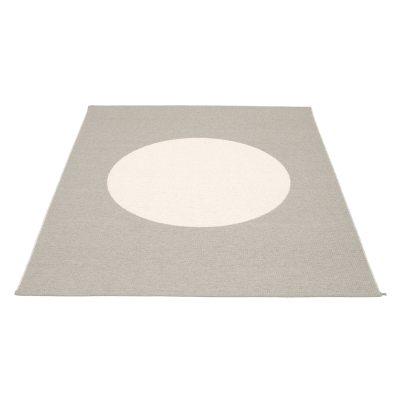 Vera matta 70×150 varm grå/vit