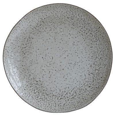 Rustic tallrik 27,5 cm grå