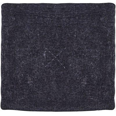 Square stolsdyna mörkgrå