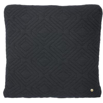 Bild av Quilt kudde 45x 45, mörkgrå