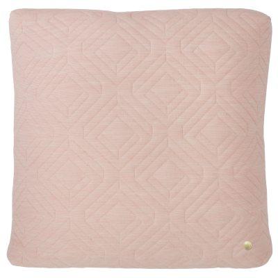 Bild av Quilt kudde 45x 45, rosa