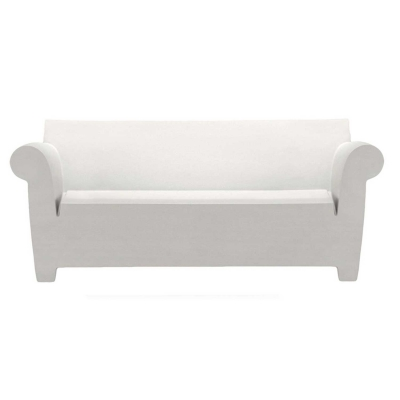Bubble Club soffa zinc white