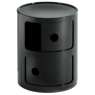Componibili 2-fack svart