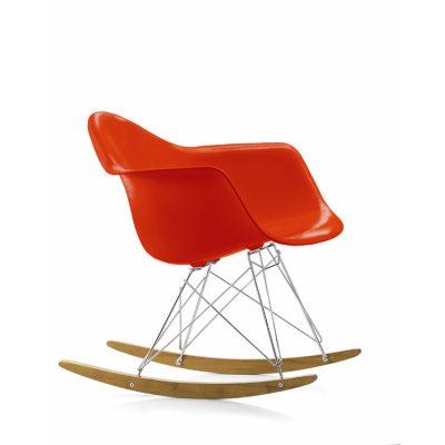 Eames Rocking Chair RAR gungstol, poppy red