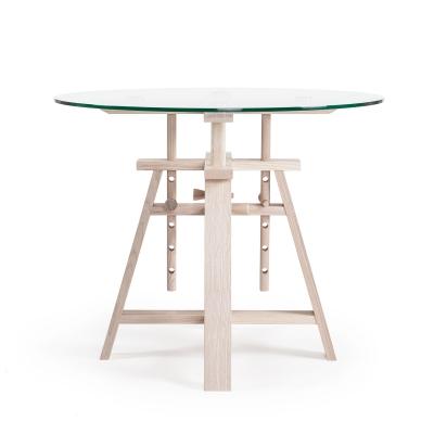 Astructure bord ø90 glas
