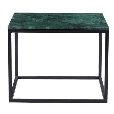 Base Marble soffbord, grön marmor