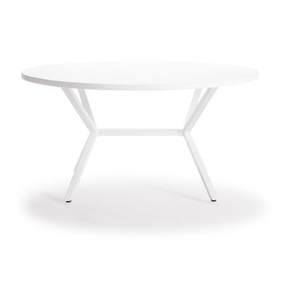 Loft soffbord ø90 cm vit