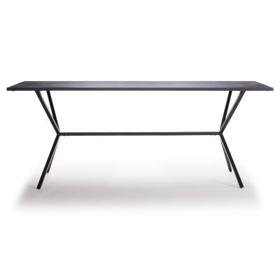 Loft matbord 180×90 svart