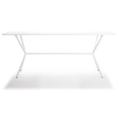Loft matbord 180×90 vit