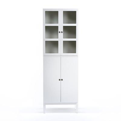 Reader 8 skåp vit/vita ben