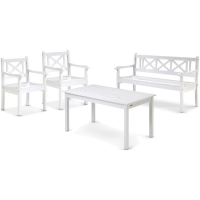 Skagen grupp – 2 stolar + 1 soffa + 1 bord
