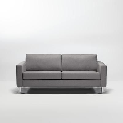 Ving 2,5-sits soffa askgrå