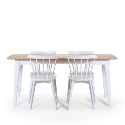 Linköping matgrupp bord + 4 stolar