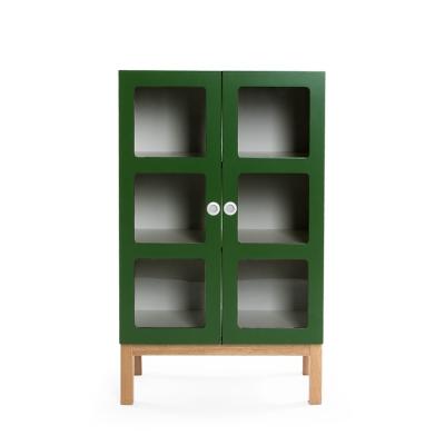 Reader 6 skåp grön/grön/ekben