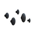The Dots h�ngare 5-pack, svart