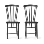 Family Chairs no3 stol 2-pack, svart