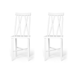 Family Chairs no1 stol 2-pack, vit
