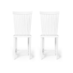 Family Chairs no2 stol 2-pack, vit