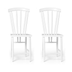 Family Chairs no3 stol 2-pack, vit