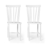 Family Chairs no4 stol 2-pack, vit