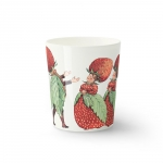Elsa Beskow mugg, strawberry family
