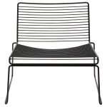 Hee Lounge Chair, svart