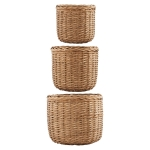 Baskets korgar large 3-set, natur