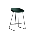 About a Stool 38 barstol h65, hunter/svart
