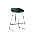 About a Stool 38 barstol h65, hunter/rostfritt