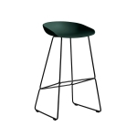 About a Stool 38 barstol h75, hunter/svart