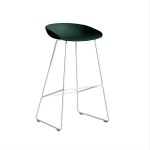 About a Stool 38 barstol h75, hunter/vit