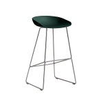 About a Stool 38 barstol h75, hunter/rostfritt