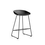 About a Stool 38 barstol h65, soft black/svart