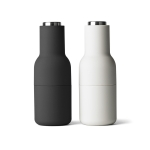 Bottle grinder 2-pack, ash/carbon/steel