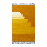 Another Rug, yellow amber