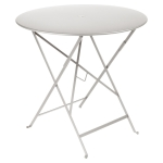 Bistro bord Ø77, steel grey