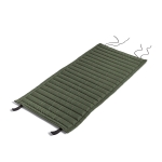Palissade Quiltad dyna Dining karmstol, olive