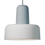 Meld taklampa, dusty blue/offwhite