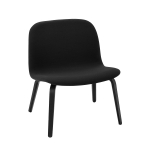 Visu loungestol, steelcut 190/black